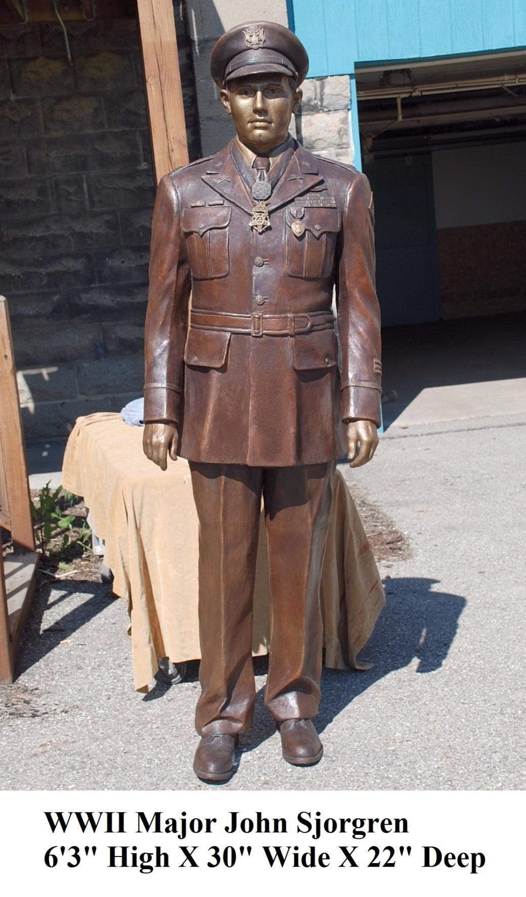 WWII Major John Sjorgren